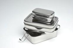 Miljövänlig matlåda rostfritt